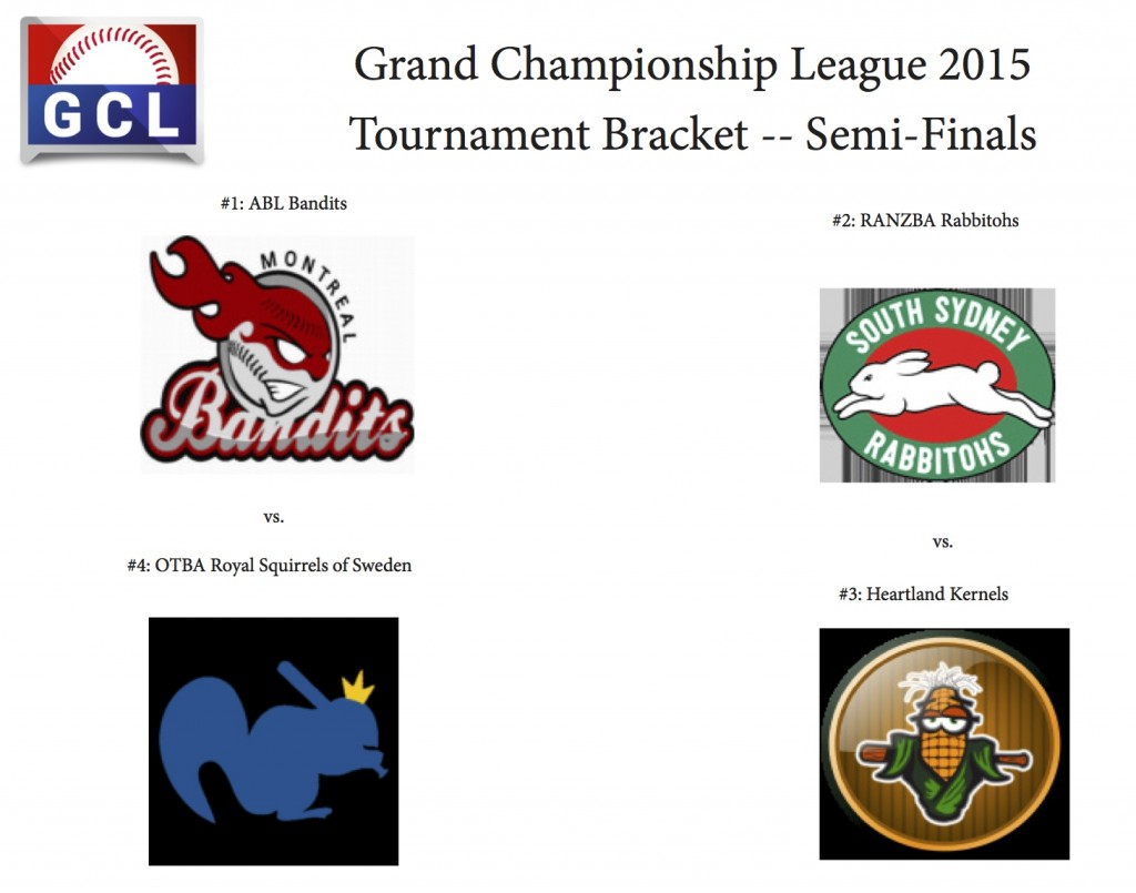 GCL Tournament Bracket Semis