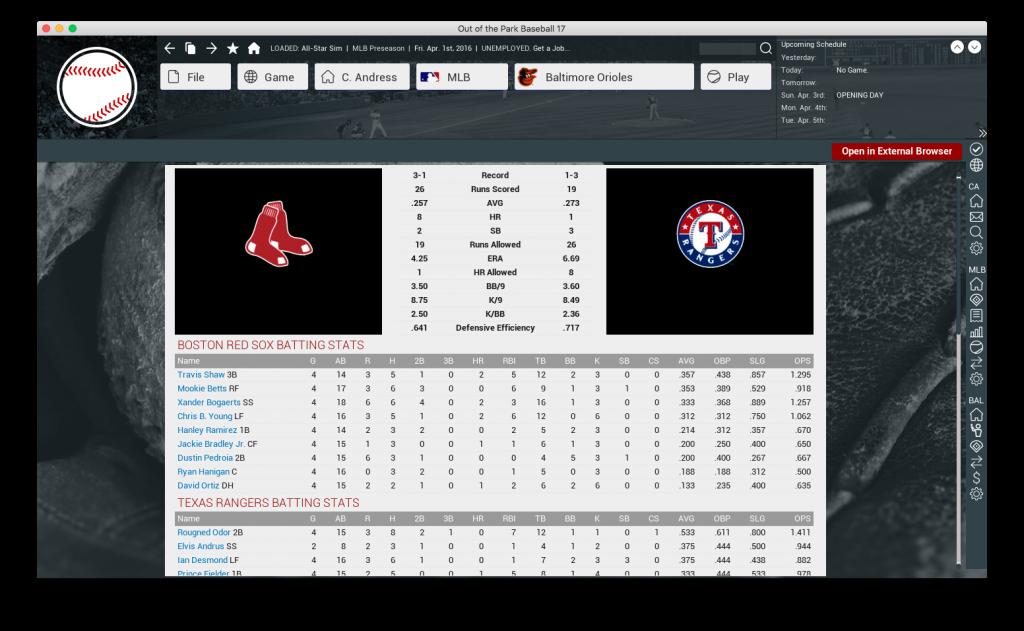 OOTP-playoff-sim-ALDS-TX-BOS